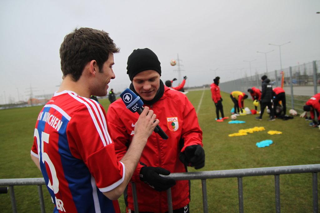 Michi Glück interviewt Tobi Werner vom FCA