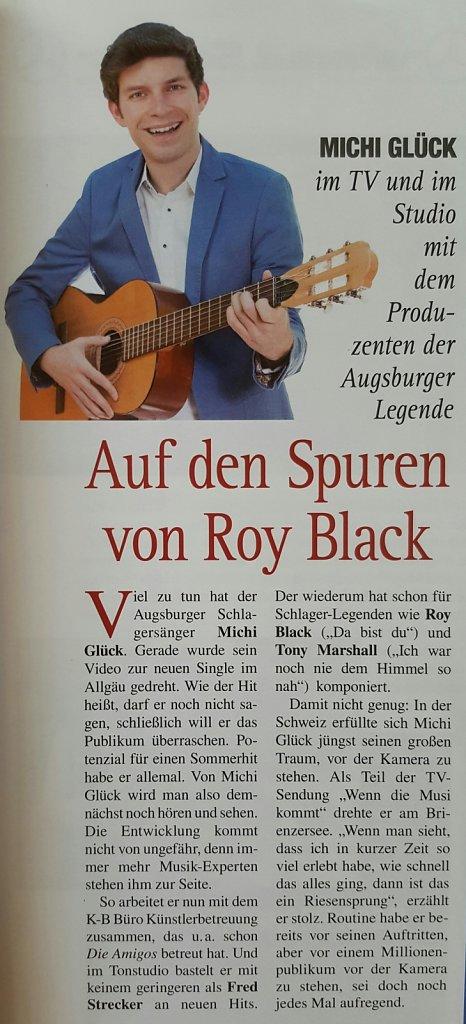 Michi Glück im AUGSBURG JOURNAL