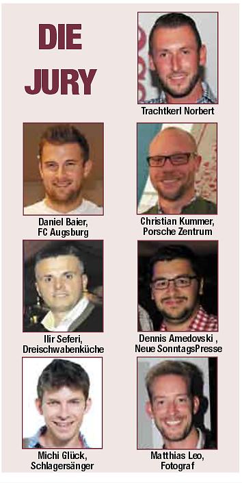 Jury zur Plärrergirl Wahl mit Michi Glück